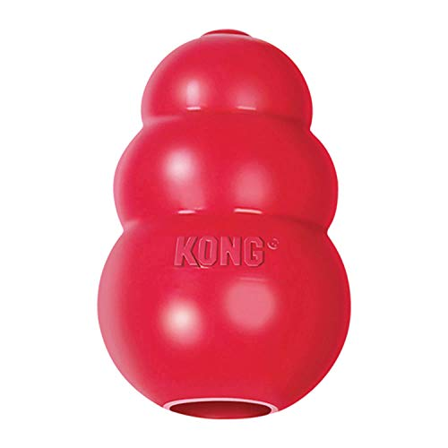 KONG - Classic Dog Toy - Durable Natural Rubber - Fun to Chew, Chase...
