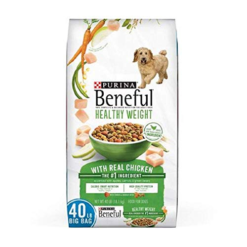 Purina Beneful Healthy Weight with Real Chicken Adult Dry Dog Food...