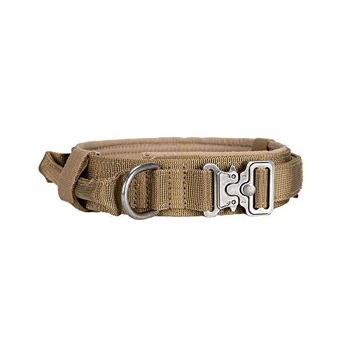 EXCELLENT ELITE SPANKER Tactical Dog Collar Training Nylon Adjustable...