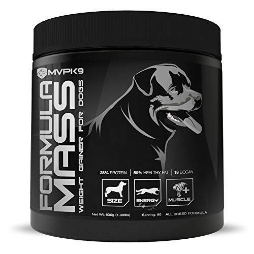 MVP K9 Formula Mass Weight Gainer for Dogs - Helps Promote Healthy...