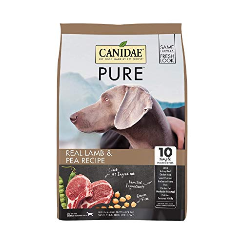 Canidae PURE Grain Free, Limited Ingredient Dry Dog Food, Lamb and...