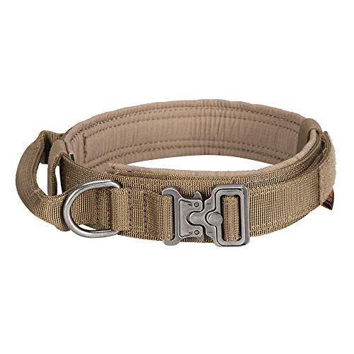 EXCELLENT ELITE SPANKER Tactical Dog Collar Nylon Adjustable K9 Collar...