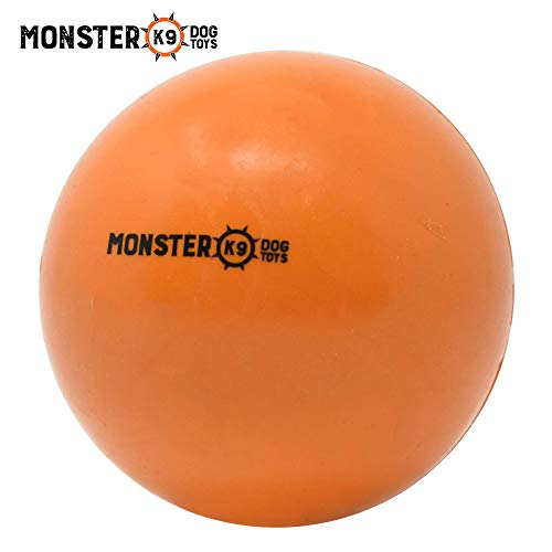 Indestructible Dog Ball - Lifetime Replacement Guarantee! - Tough...