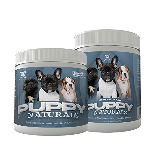 Muscle Bully Puppy Naturals Formula Stack (Immunity Supplement +...