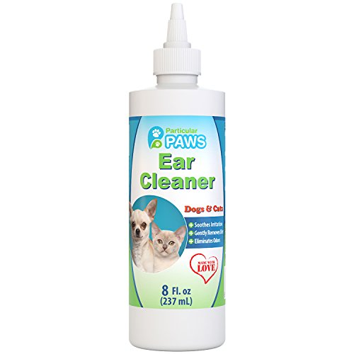 Particular Paws Ear Cleaner for Dogs and Cats with Aloe Vera, Tea Tree...