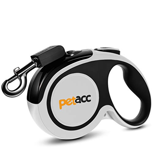 petacc Retractable Dog Leash, Reuse Design Heavy Duty Pet Walking...