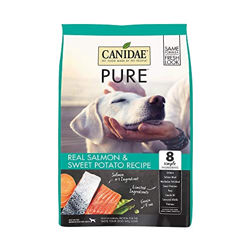 Canidae PURE Grain Free, Limited Ingredient Dry Dog Food, Salmon and...