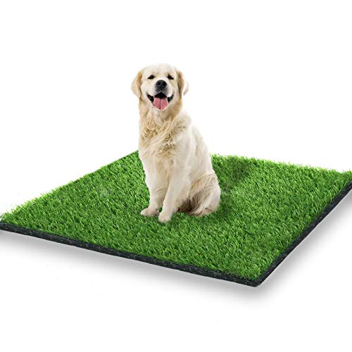 STARROAD-TIM 39.3 x 31.5 inches Artificial Grass Rug Turf for Dogs...