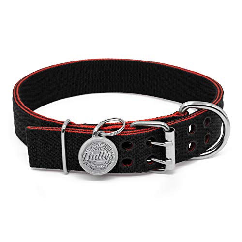 Pit Bull Collar, Dog Collar for Large Dogs, Heavy Duty Nylon,...