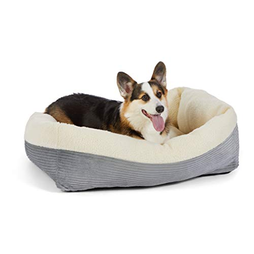 Amazon Basics Rectangle Self Warming Pet Bed For Cat or Dog, 35 x 11 x...