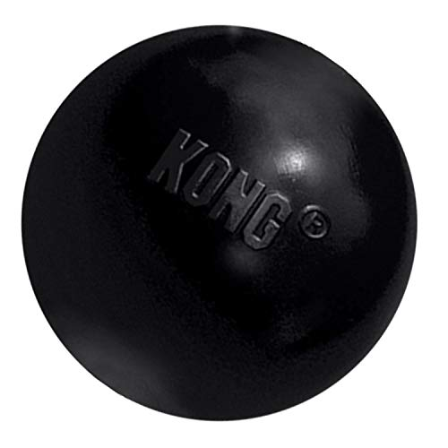 KONG - Extreme Ball - Durable Rubber Dog Toy for Power Chewers, Black...