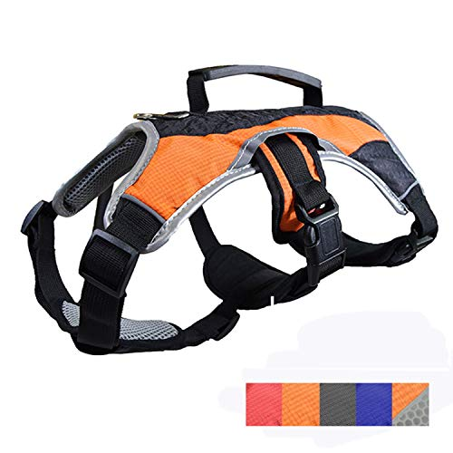 Peak Pooch Dog Walking Lifting Carry Harness, Support Mesh Padded...