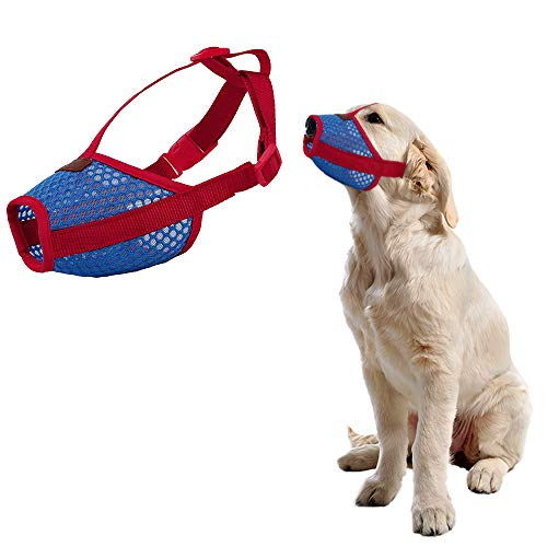HanDingSM Dog Muzzle,Anti Biting and Chewing, Adjustable,...