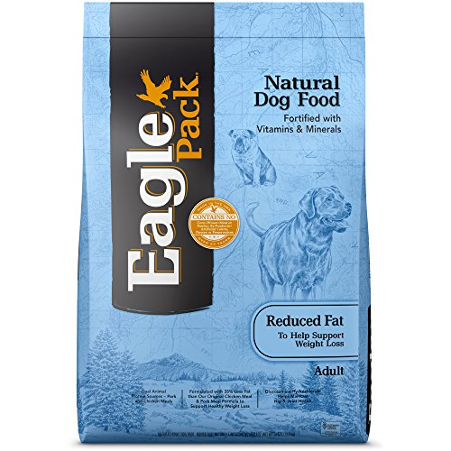 Eagle Pack Natural Dry Reduced Fat Dog Food, Pork, Chicken & Fish,...
