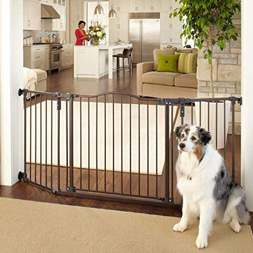 MYPET North States 72' Extra-Wide Windsor Arch Gate: Provides safety...