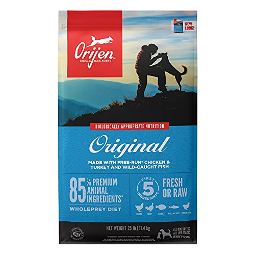 Orijen Dry Dog Food for All ages, Original, Grain Free, High Protein,...