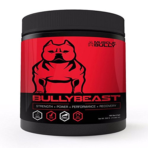 Bully Beast Creatine for Dogs - Muscle Building Supplement - Improves...