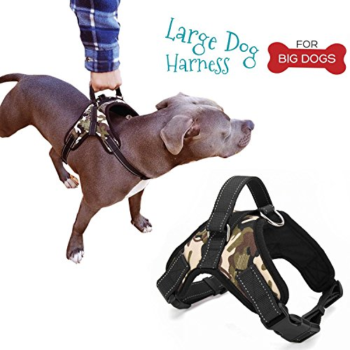 Pet Lovers Stuff Dog Harness Large Breeds | Best Harness with Handle,...