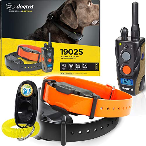 Dogtra 1902S 2-Dogs Remote Training Collar - 3/4 Mile Range, IPX9K...