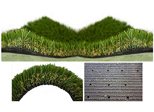 1.25' Antimicrobial PET Grass/Turf 100 Oz. Outdoor or Indoor,...