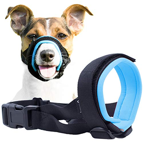 Gentle Muzzle Guard for Dogs - Prevents Biting and Unwanted Chewing...