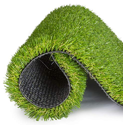 SavvyGrow Artificial Grass for Dogs Pee Pads - Premium 4 Tone Puppy...