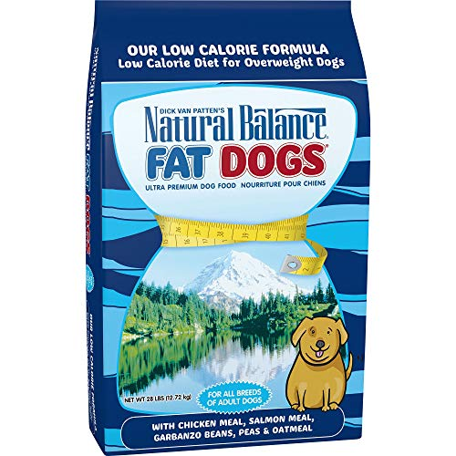 Natural Balance Fat Dogs Low Calorie Dry Dog Food, Chicken Meal,...