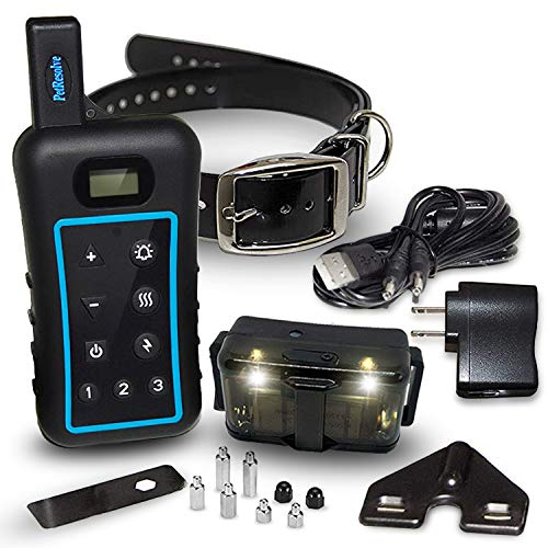 Remote Dog Training Collar,Night Light,Removable...