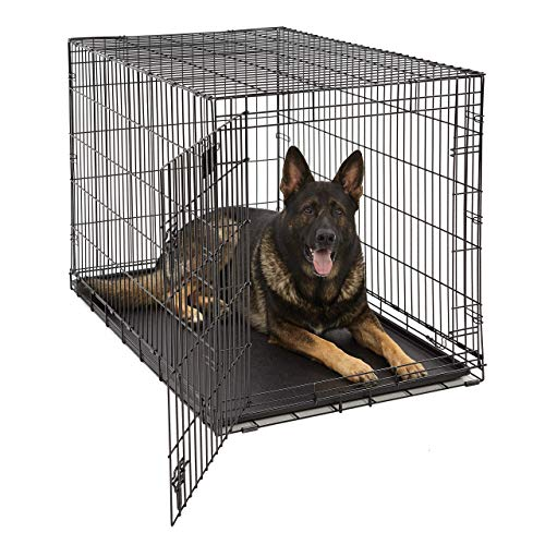 Life Stages LS-1648 Single Door Folding Crate for X-Large Dogs(91 -...