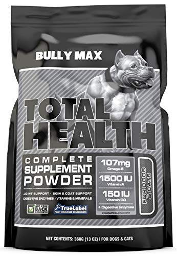 Bully Max Total Health 7-in-one Dog Supplement. Stops itching,...