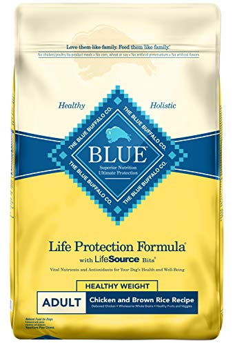 Blue Buffalo Life Protection Formula Natural Adult Healthy Weight Dry...