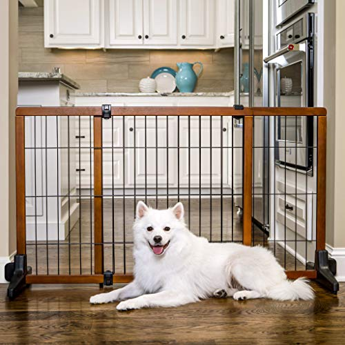 Carlson Extra Tall 70-Inch Wide Adjustable Freestanding Pet Gate,...