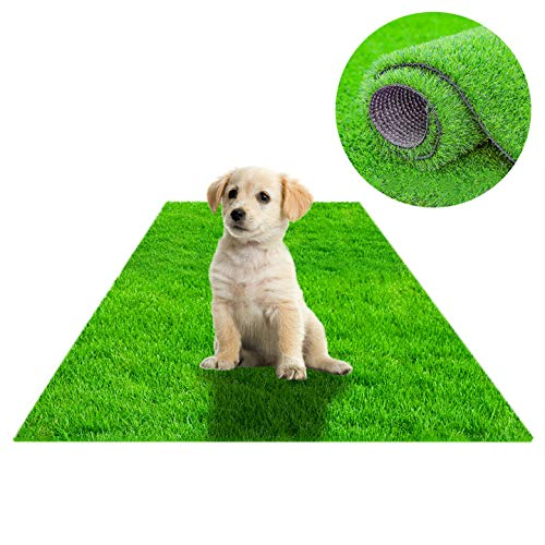 STARROAD-TIM Artificial Grass Rug Turf for Dogs Indoor Outdoor Fake...