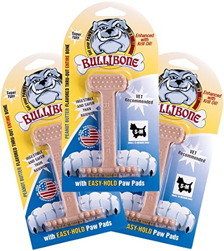 Bullibone Dog Chew: Durable Dog Toys for Small Dogs and Aggressive...