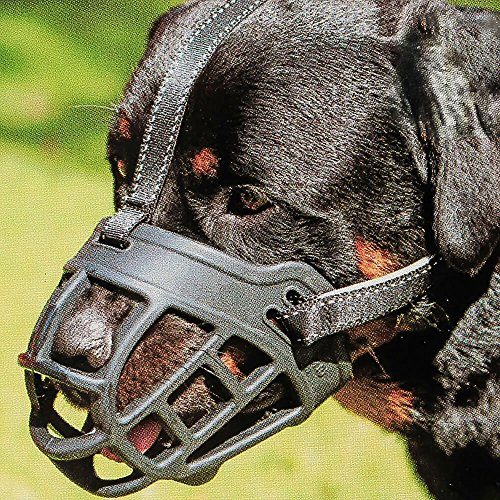 Dog Muzzle,Soft Basket Silicone Muzzles for Dog, Best to Prevent...